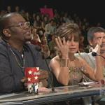 Paula Abdul screws up on American Idol 19994