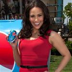 Paula Patton at The Grove to appear on the entertainment news show Extra 110867