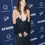 Paz de la Huerta at Blue Valentine premiere in New York  74753