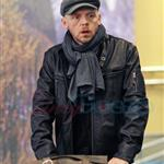 Simon Pegg arrives in Vancouver for MI:4 74043