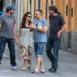 Penelope Cruz and Javier Barden dine with friends in Madrid 121061