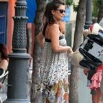 Penelope Cruz and Javier Barden dine with friends in Madrid 121068