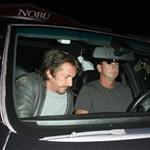 Sean Penn at Nobu in Malibu 45016