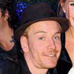 Michael Fassbender at Armani party July 2011 90463