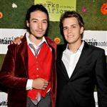 Ezra Miller, and Johnny Simmons attend the official party for the cast of Perks of Being a Wallflower hosted by vitaminwater at TIFF 125507