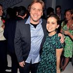 Stephen Chbosky and Mae Whitman at the official party for the cast of Perks of Being a Wallflower hosted by vitaminwater at TIFF 125510
