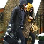 Katy Perry with Russell Brand in London 52519