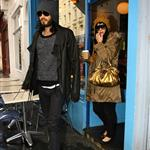 Katy Perry with Russell Brand in London 52522