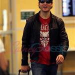 Peter Facinelli returning from Portland 45746