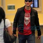 Peter Facinelli arrives back in Vancouver after Portland charity event 45749