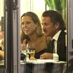 Sean Penn and Petra Nemcova at dinner with friends at Tetou in Cannes 115064