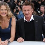 Sean Penn and Petra Nemcova at the Haiti Carnaval in Cannes photocall during the 65th Annual Cannes Film Festival 115075
