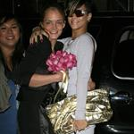 Rihanna spotted out for karaoke night with friends and obliging fans with photos and autographs 47090