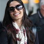 Freida Pinto and Dev Patel arrive for the 2011 Toronto Film Festival.  Photos from PUNKD Images 93624