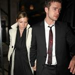 Justin Timberlake Jessica Biel attend wedding reception  19096