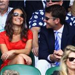 Pippa Middleton shows up at Wimbledon with Alex Loudon and her family  88729