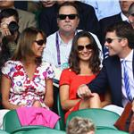 Pippa Middleton shows up at Wimbledon with Alex Loudon and her family  88731
