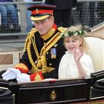 Prince Harry during the carriage procession  84233
