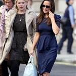 Pippa Middleton out in London with a friend 126716
