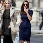 Pippa Middleton out in London with a friend 126717