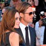 Brad Pitt and Angelina Jolie at Roy Thomson Hall for the Moneyball gala at TIFF 2011 93821