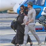 Brad Pitt Angelina Jolie vacation in France with their children 20130