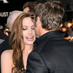 Brad Pitt and Angelina Jolie at the LA premiere of Inglourious Basterds 45646