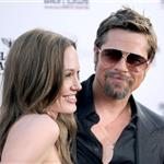 Brad Pitt and Angelina Jolie at the LA premiere of Inglourious Basterds 45644