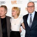 Imogen Poots (with Christopher Walken and director Yaron Zilberman) attends the 'A Late Quartet' Premiere at the 2012 Toronto International Film Festival at The Elgin on September 10, 2012 125920