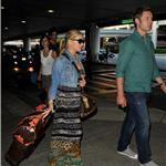 Jessica Simpson and boyfriend Eric Johnson arriving at LAX 65203