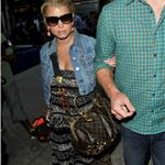 Jessica Simpson and boyfriend Eric Johnson arriving at LAX 65204