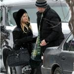 Jessica Simpson in reindeer tights in Aspen with Eric Johnson for New Year's 2011 75998