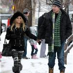 Jessica Simpson in reindeer tights in Aspen with Eric Johnson for New Year's 2011 76000
