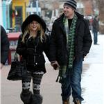 Jessica Simpson in reindeer tights in Aspen with Eric Johnson for New Year's 2011 76004