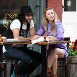 Whitney Port shooting The City in New York 25234