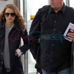 Natalie Portman leaves Toronto on Tuesday.  Photos from Punkd Images.  68798