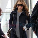 Natalie Portman leaves Toronto on Tuesday.  Photos from Punkd Images.  68799