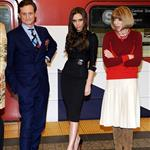 Hamish Bowles, Victoria Beckham and Anna Wintour attends the launch of Britain's GREAT campaign at Grand Central Shuttle Station 106331