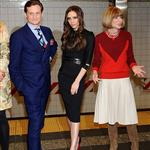 Hamish Bowles, Victoria Beckham and Anna Wintour attends the launch of Britain's GREAT campaign at Grand Central Shuttle Station 106335