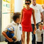Victoria Beckham takes her sons to Build a Bear workshop wearing 6 inch stilettos 25700