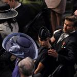 David and Victoria Beckham at the Royal Wedding 84245