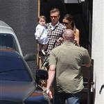 The Beckhams Celebrate Victoria's Birthday At Matsuhisa with Harper Seven 111595