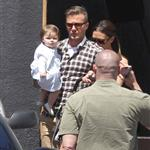 The Beckhams Celebrate Victoria's Birthday At Matsuhisa with Harper Seven 111596