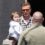 The Beckhams Celebrate Victoria's Birthday At Matsuhisa with Harper Seven 111597