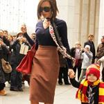 "Victoria Beckham shops with Cruz in New York instead of attending Mel C""s performance at the Hammerstein 17108"