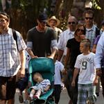 David and Victoria Beckham take their kids to Disneyland 21303