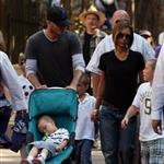 David and Victoria Beckham take their kids to Disneyland 21301