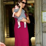 Victoria Beckham takes Harper Seven to New York for fashion week 93583