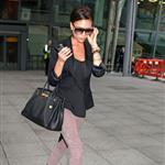 Victoria Beckham arrives in London 48925