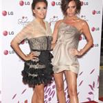 Victoria Beckham and Eva Longoria co-host LG event May 2010  61833